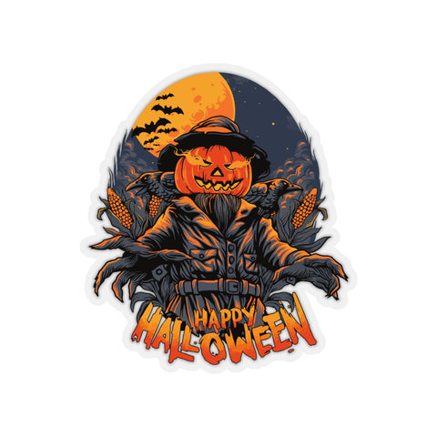 Halloween Decal sticker, Horror Scarecrow stickers Laptop Vinyl Cute Waterproof for Waterbottle Tumbler Car Bumper Aesthetic Label Wall Decal - Starcove Design