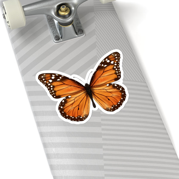 Monarch Butterfly Decal Art Stickers decoration Insect Laptop Vinyl Cute Waterproof Waterbottle Tumbler Car Bumper Aesthetic Label Wall - Starcove Design