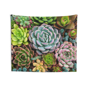 Cactus Tapestry, Succulent Botanic Plants, Nature Landscape Indoor Wall Art Hanging Tapestries Decor Home Dorm Room Gift - Starcove Design