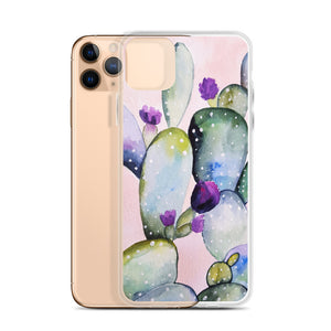Cactus iPhone 11 Pro Max Case, Phone Pink Blossom Flower Print Gift  iphone XS Max, XR, X, 7 Plus, 8 8F,  6s 6 Plus, 5 5s 5e - Starcove Design