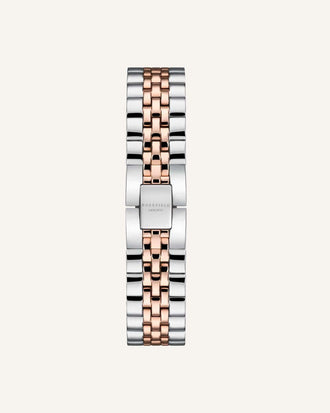 Silver - Rose gold Strap