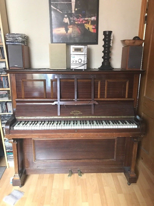 """The Claremont"" - Antique Piano (Imported from London) - Premium Diplomat Goods"