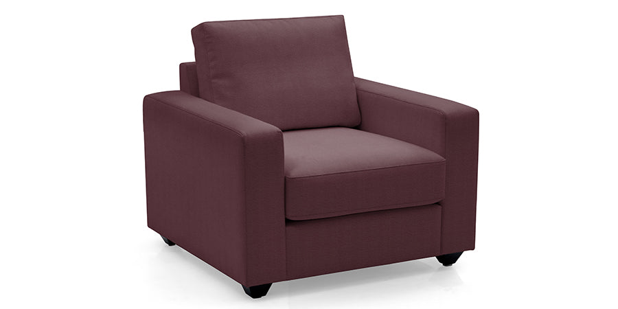 Premium Imported 7 Seater Burgundy Sofa Set (3+3+1) - Premium Diplomat Goods