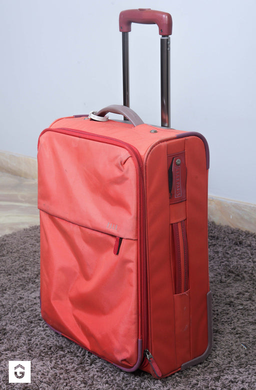 Pink Trolley Bag - Premium Diplomat Goods