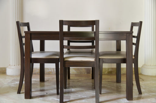 Parson's Dark Tan Dining Set - Premium Diplomat Goods