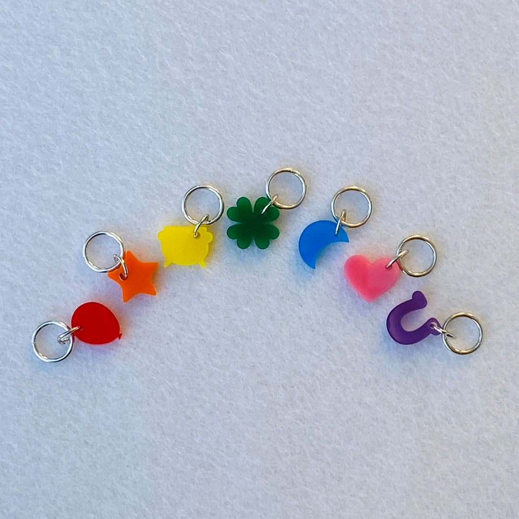 Lucky Charms Stitch Markers