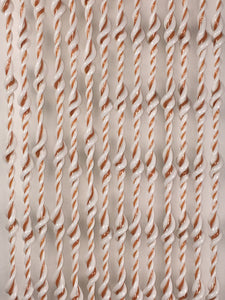 Cream and Toffee Milan design PVC curtain for insect curtains and attractive room dividers