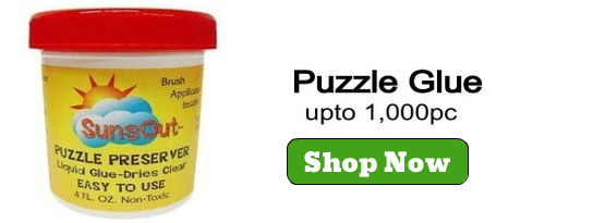Mr Puzzle Head's Jigsaw Puzzle Glues