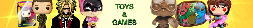 Toys & Games Collection Banner
