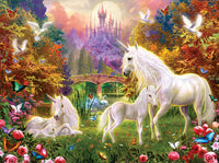 Castle Unicorns 1000pc