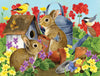 Bunnies and Birdhouses 500pc