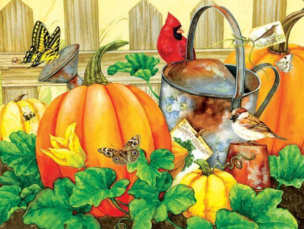 October Garden 500pc Jigsaw Puzzle | Jane Maday