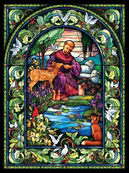 St. Francis 1000pc Jigsaw Puzzle | Randy Wollen