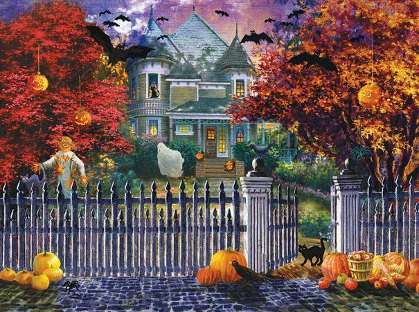 Halloween House 1000pc Jigsaw Puzzle | Nicky Boehme