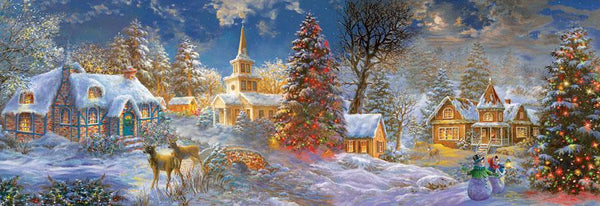 The Stillness of Christmas 500pc Jigsaw Puzzle | Nicky Boehme