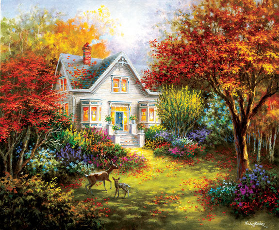 Autumn Overtures1000pc Jigsaw Puzzle | Nicky Boehme