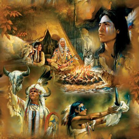 Native American Dreams 1000pc Jigsaw Puzzle | Russ Docken
