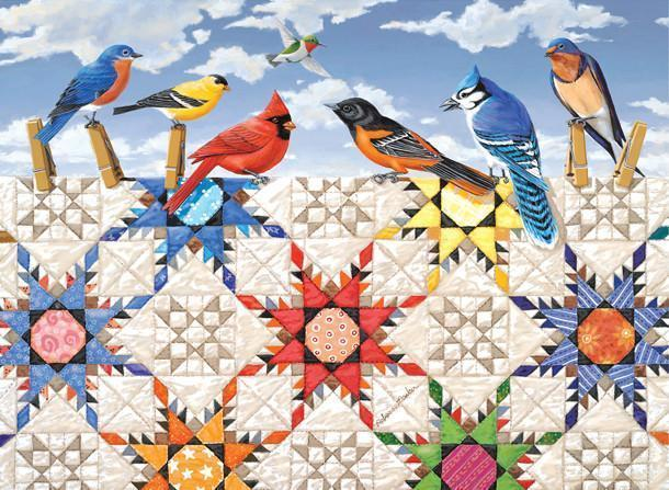 Feathered Stars 500pc Jigsaw Puzzle | Rebecca Barker
