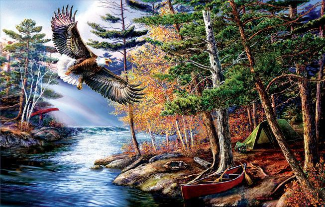 Freedom Waters 1000pc Jigsaw Puzzle | James Meger