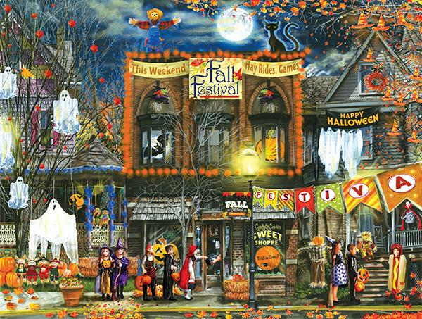 Fall Festival 500pc Jigsaw Puzzle | Tom Wood