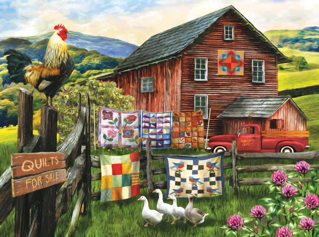 A Warm Welcome Home 1000 pc Jigsaw Puzzle by SUNSOUT INC