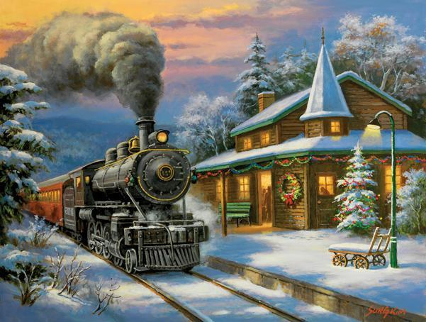 Holiday Ltd. 500pc Jigsaw Puzzle | Sung Kim