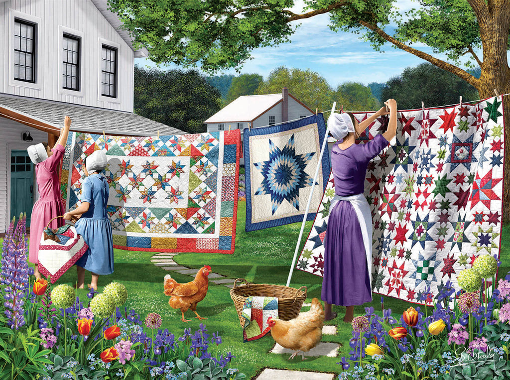Quilts in the Backyard