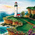 Lighthouse Sunset 500pc Jigsaw Puzzle | Mary Irwin