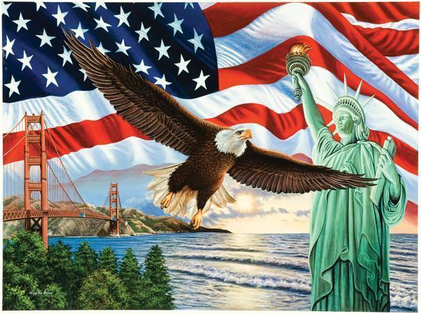 From Sea to Shining Sea 1000pc Jigsaw Puzzle | Higgins Bond