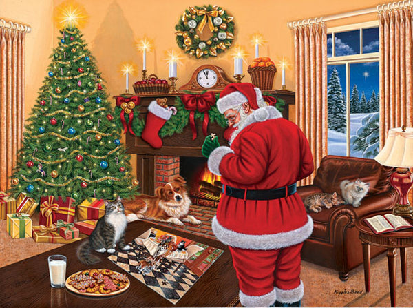 Santa Solves the Puzzle 1000pc