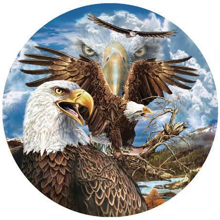 13 Eagles 1000pc Shaped Jigsaw Puzzle | Steven Michael Gardner