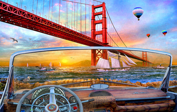 Golden Gate Adventure 550pc