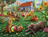 Dogs and Cats at Play Jigsaw Puzzle