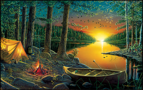 Evening by the Lake 550pc