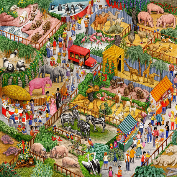 A Crazy Zoo 1000pc
