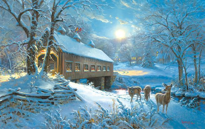 Moonlit Passage 550pc Jigsaw Puzzle | Mark Keathley