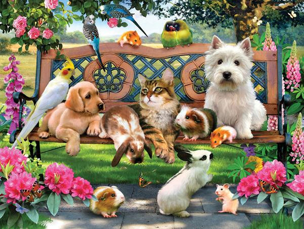 Pets in the Park 500pc Jigsaw Puzzle | Howard Robinson