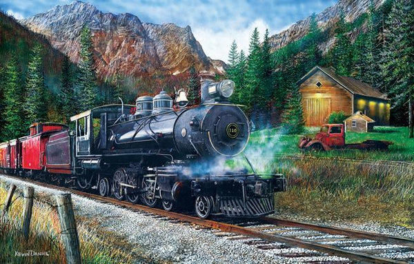 The Leinad Express 1000pc Jigsaw Puzzle | Kevin Daniel
