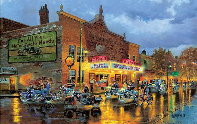 American Classics 550pc Jigsaw Puzzle | Dave Barnhouse
