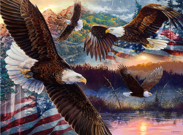Land of Freedom 1000pc