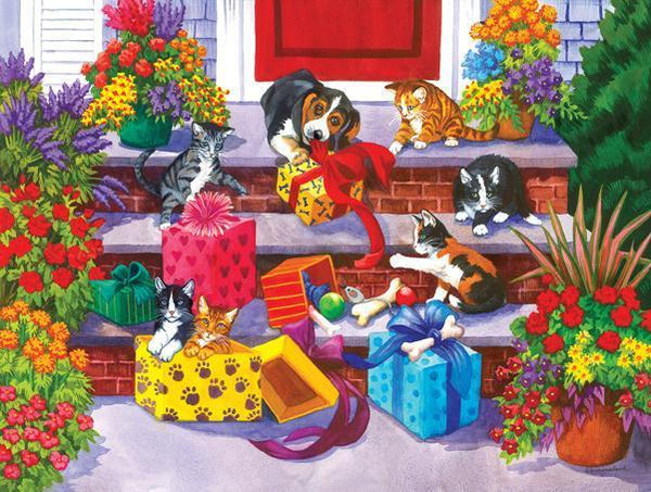 Time for Toys and Treats 1000pc Jigsaw Puzzle | Nancy Wernersbach