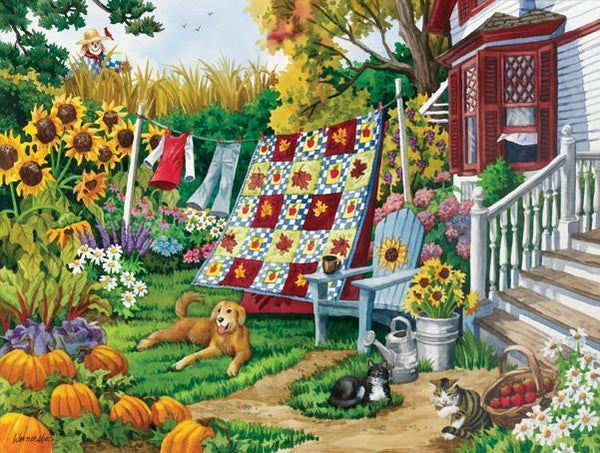Country Autumn 500pc Jigsaw Puzzle | Nancy Wernersbach