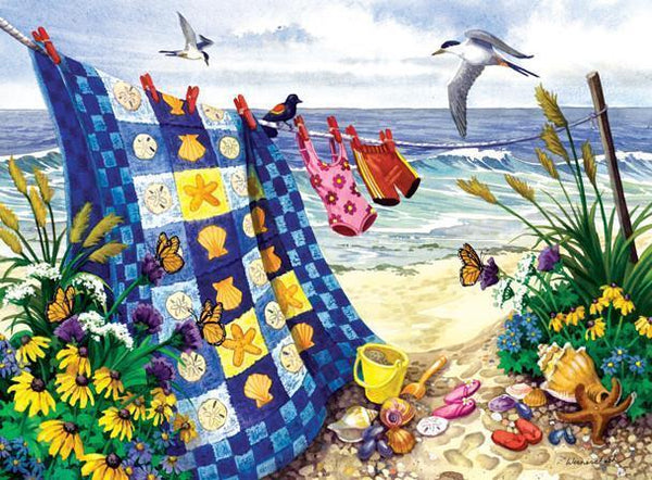 Seaside Summer 500+pc Jigsaw Puzzle | Nancy Wernersbach