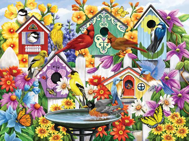 Garden Neighbors 1000pc Jigsaw Puzzle | Nancy Wernersbach