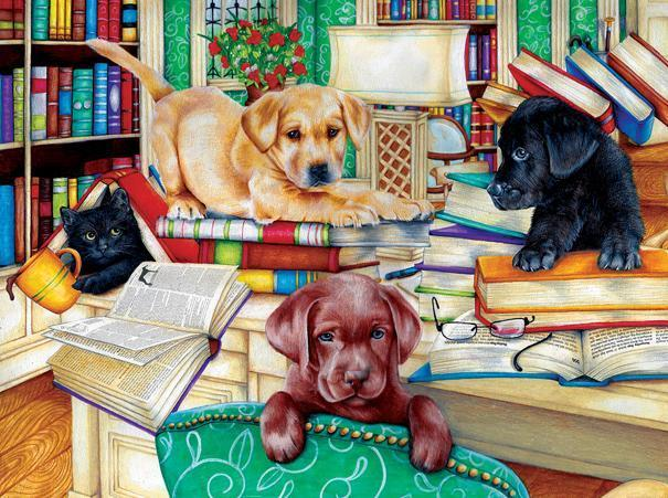 Reading Time 500pc Jigsaw Puzzle | Donna Knold