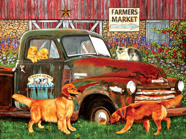Woody Acres 1000pc Jigsaw Puzzle | Julie Bauknecht