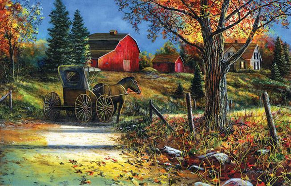 Country Roadside 1000pc Jigsaw Puzzle | Jim Hansel