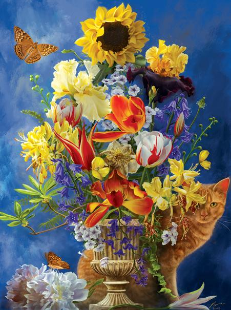 Garden of Gold 1000pc Jigsaw Puzzle | Nene Thomas