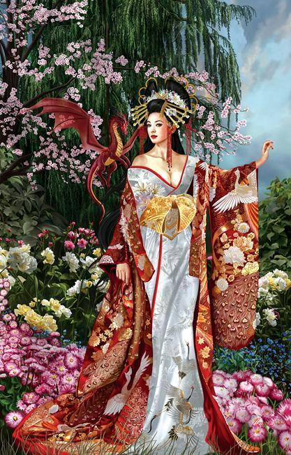 Queen of Silk 1000pc Jigsaw Puzzle | Nene Thomas