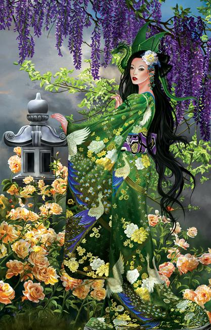 Queen of Jade 1000pc Jigsaw Puzzle | Nene Thomas